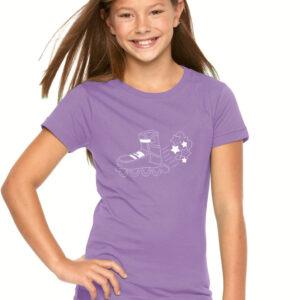 Tshirt STARS lilac(white)