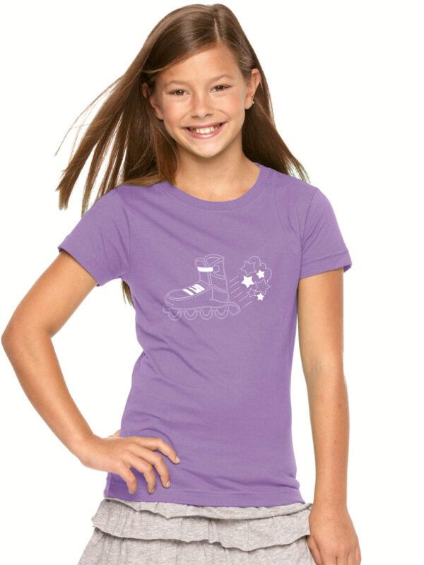 kids STARS lilac(white)