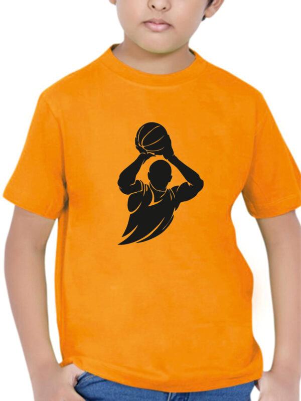 Tshirt BASKETBALL PLAYER K orange