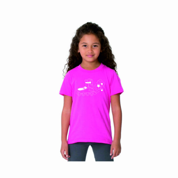 (kids STARS pink(white)