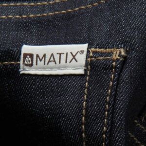 MATIX MEN'S PANTS GRIPPER BLUE(DARK RINSE)