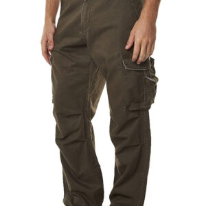 RUSTY MEN'S PANTS SHEETYA BROWN JUNGLE