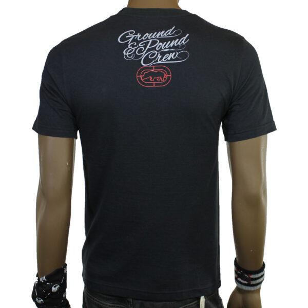 slalom-shop-t-shirt-ecko-championship-black-front