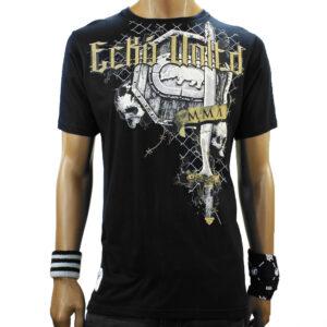 T-Shirt Ecko Shield Rage black