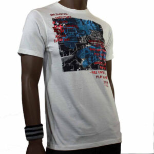 T-SHIRT ECKO PARTY PEOPLES white