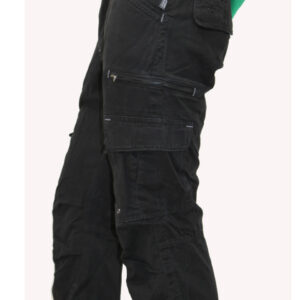 PROJECT & PROGRESS STEFAN CARGO PANT BLACK
