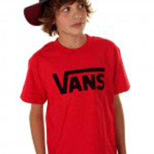 TSHIRT VANS CLASSIC BOYS RED