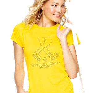 Tshirt FREESTYLE SKATING yellow(black)