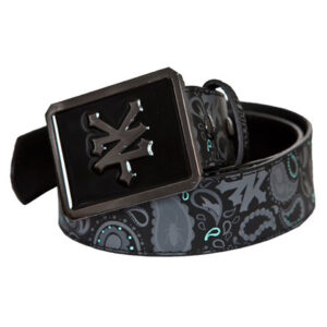 ZOO YORK LEATHER BLACK BELT