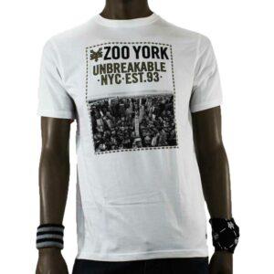 T-SHIRT ZOO YORK CITY HEIGHTS WHITE