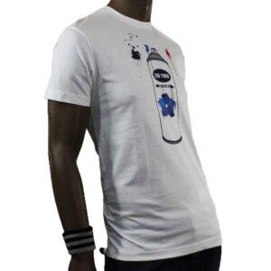 T-Shirt Zoo York Tagging White