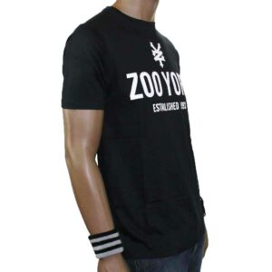 T-SHIRT ZOO YORK TEMPLETON BLACK