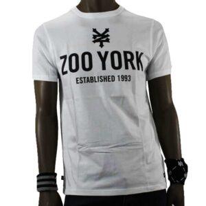 T-SHIRT ZOO YORK TEMPLETON WHITE