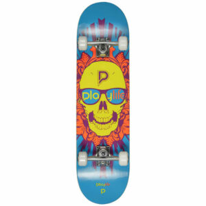 Τροχοσανίδα Playlife Skull Head Illusion Grey Blue 8""